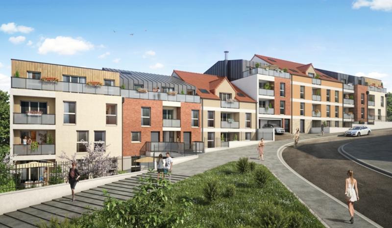 La résidence Aquarelle à Corbeil-Essonnes (91) sera livrée en otobre 2019.